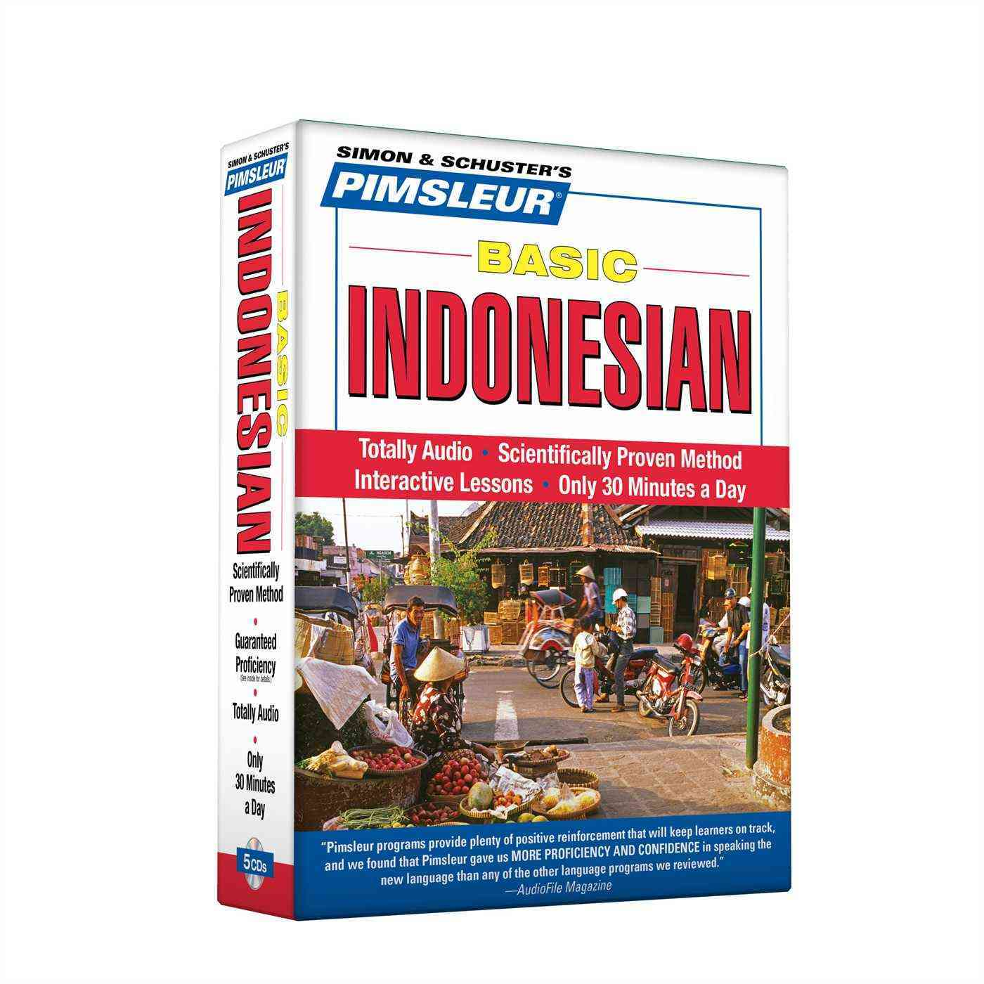 [CD] Basic Indonesian By Pimsleur (COR)
